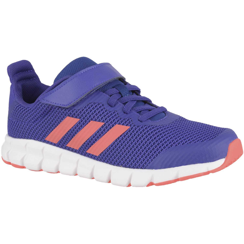 Adidas rapidaflex el k Morado / rosado Fitness y Cross-Training