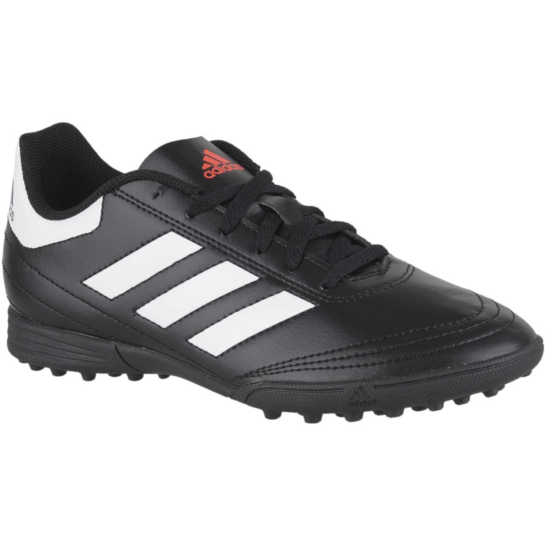 Adidas goletto vi tf j Negro / blanco Muchachos