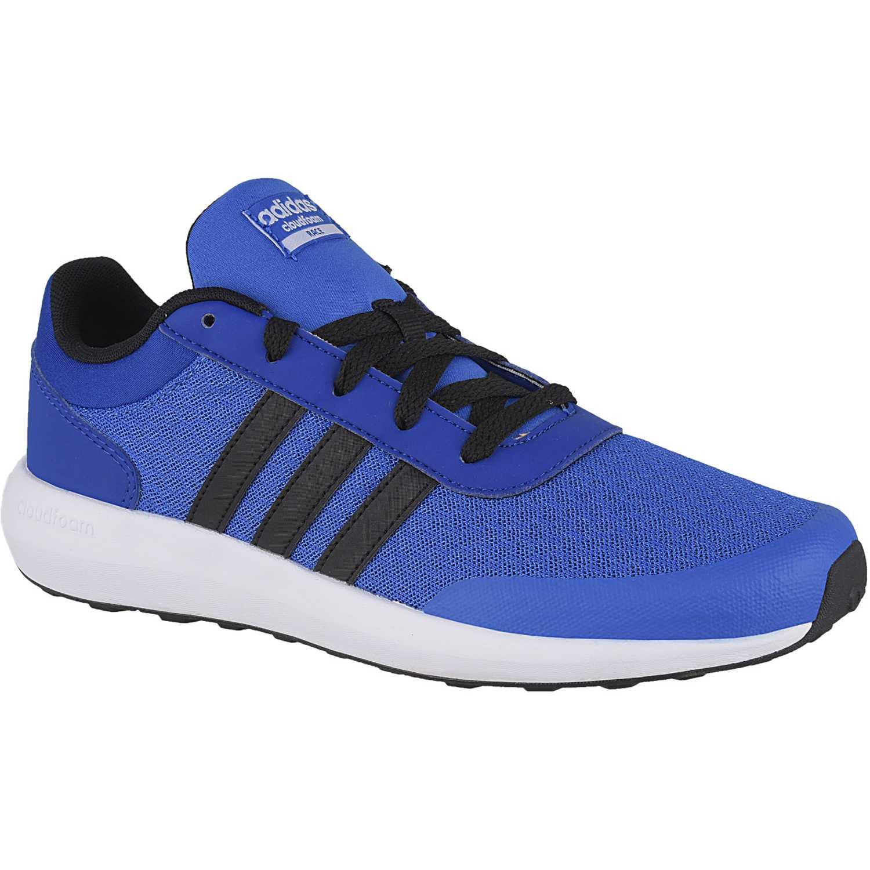 adidas NEO cf race k Azul / negro Walking