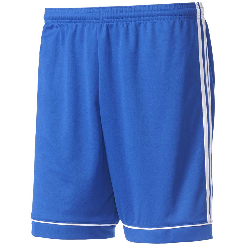 Adidas squad 17 sho Azulino / blanco Shorts Deportivos