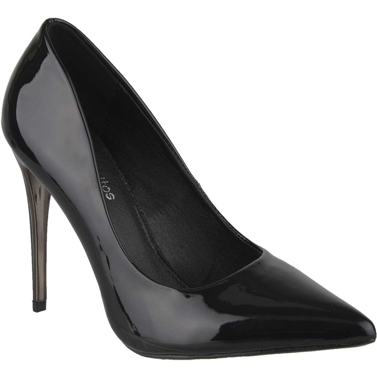 Platanitos cv 121ch Negro Estiletos y Pumps