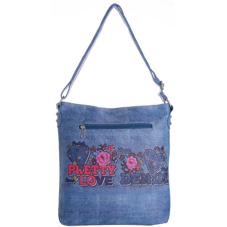 Carteras de Mujer Platanitos Azul ds145-4