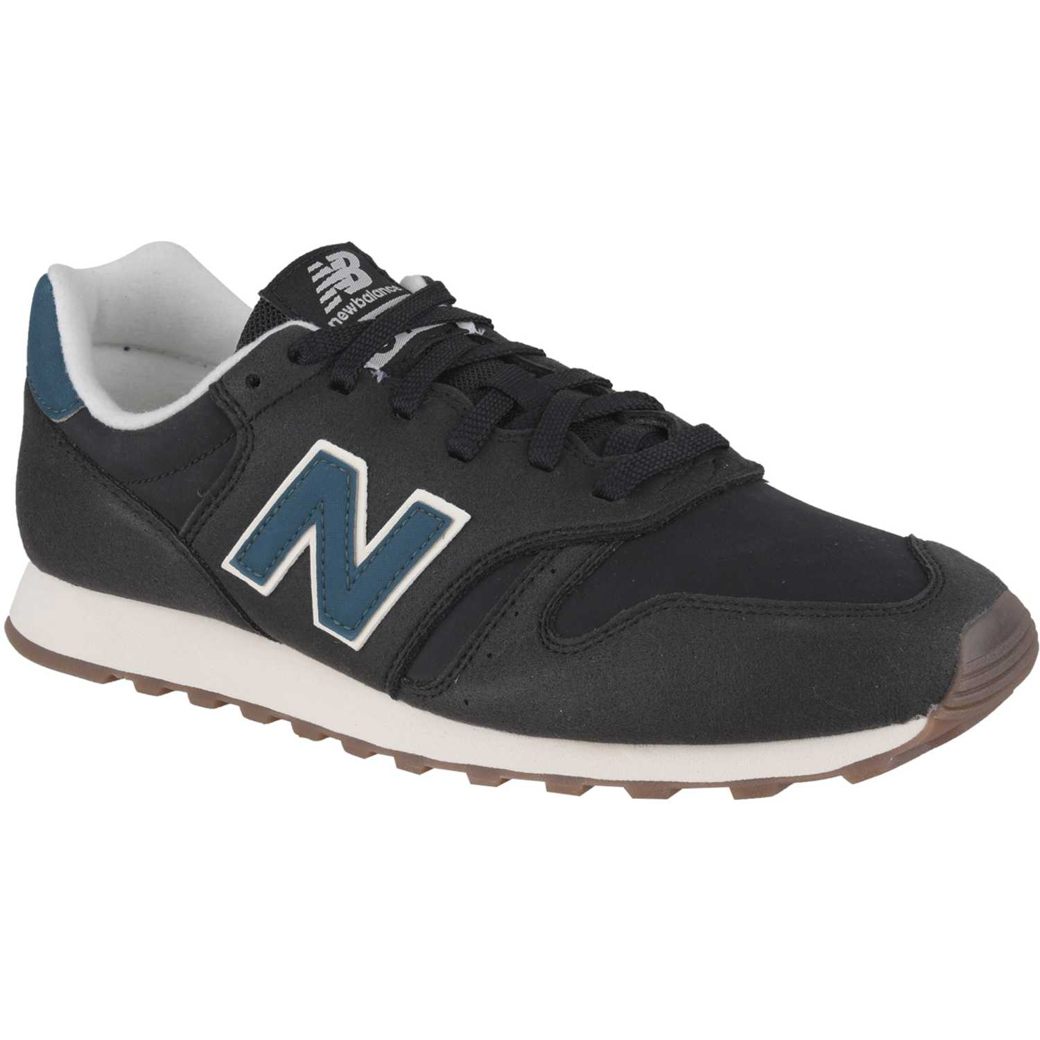 New Balance 373 Negro / verde Walking | platanitos.com