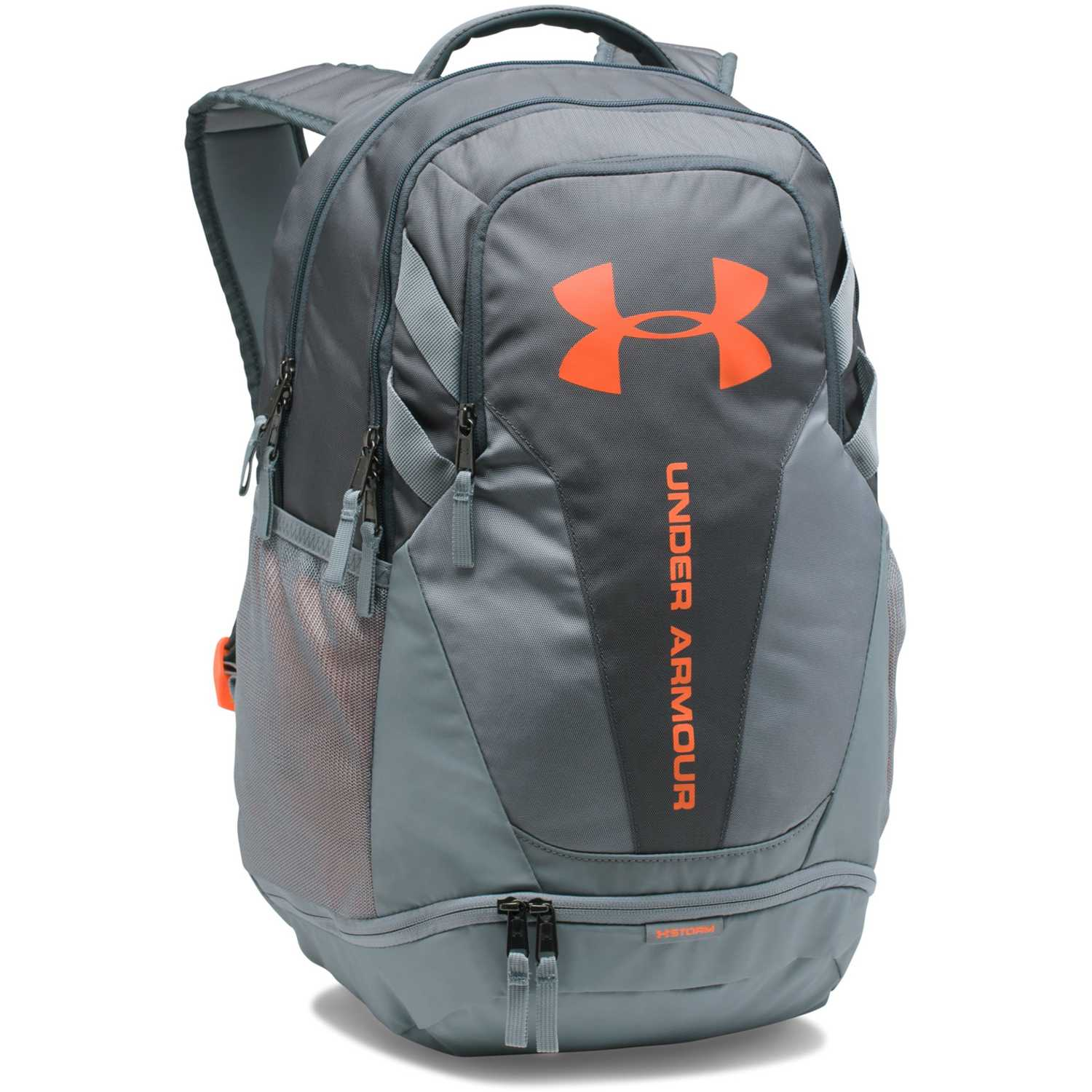 punto mental distancia  Under Armour Ua Hustle 3.0 Gris / naranja Mochilas multipropósitos |  platanitos.com