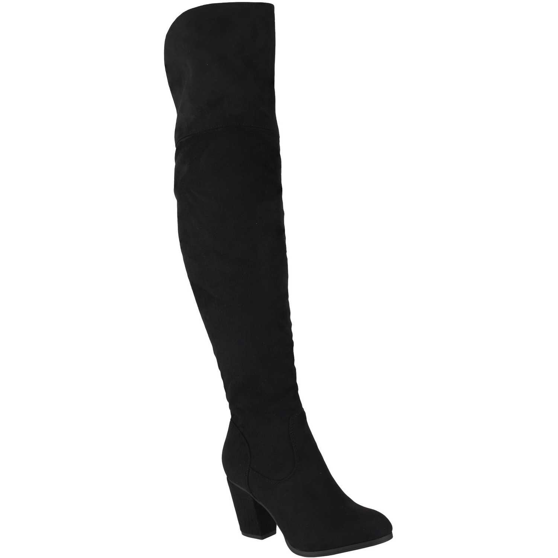 Botas de Mujer Platanitos Negro b 6221