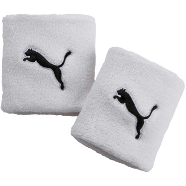 Puma tr wristbands Blanco / negro pulseras
