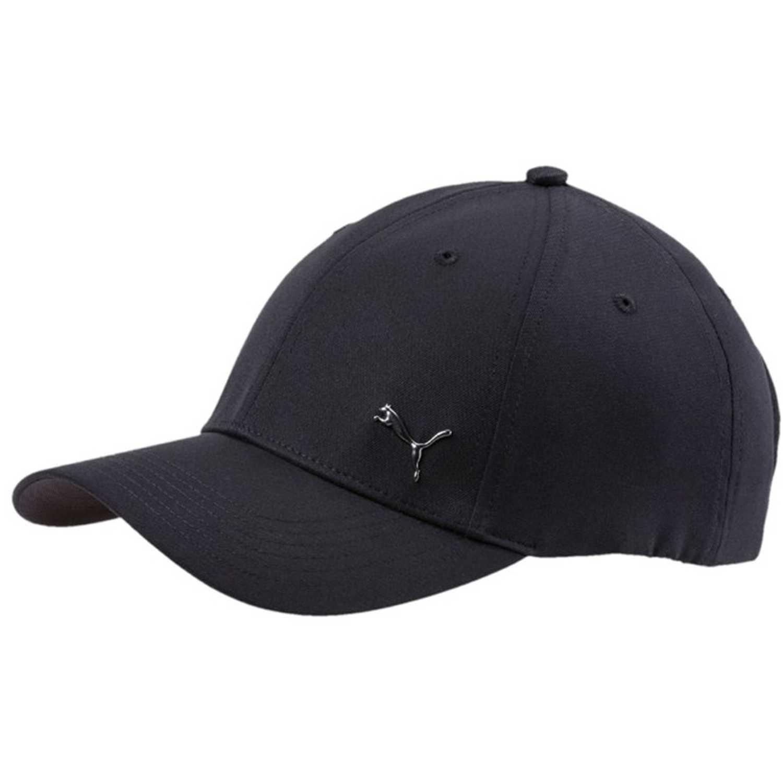 Puma metal cat cap Negro / negro Gorros de Baseball