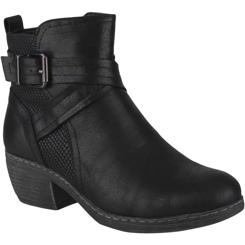 Botínes de Mujer Platanitos Negro bt 5506