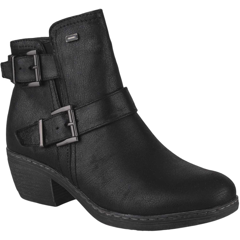 Botínes de Mujer Platanitos Negro bt  5501