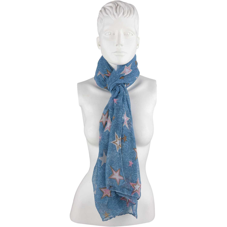Bufandas de Mujer Platanitos Azul ylbl-a2182