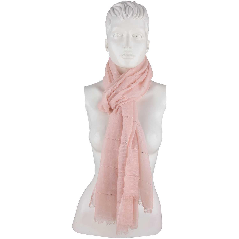Bufanda de Mujer Platanitos Rosado #0514