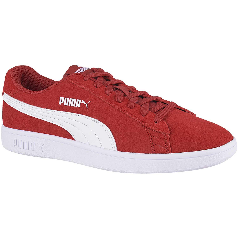 pumas mujer zapatillas rojas