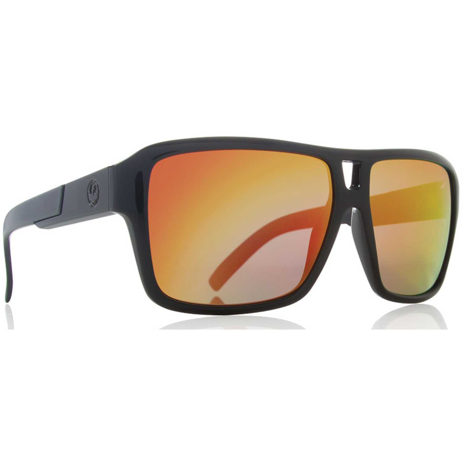 Dragon the jam jet Negro / naranja Lentes de Sol