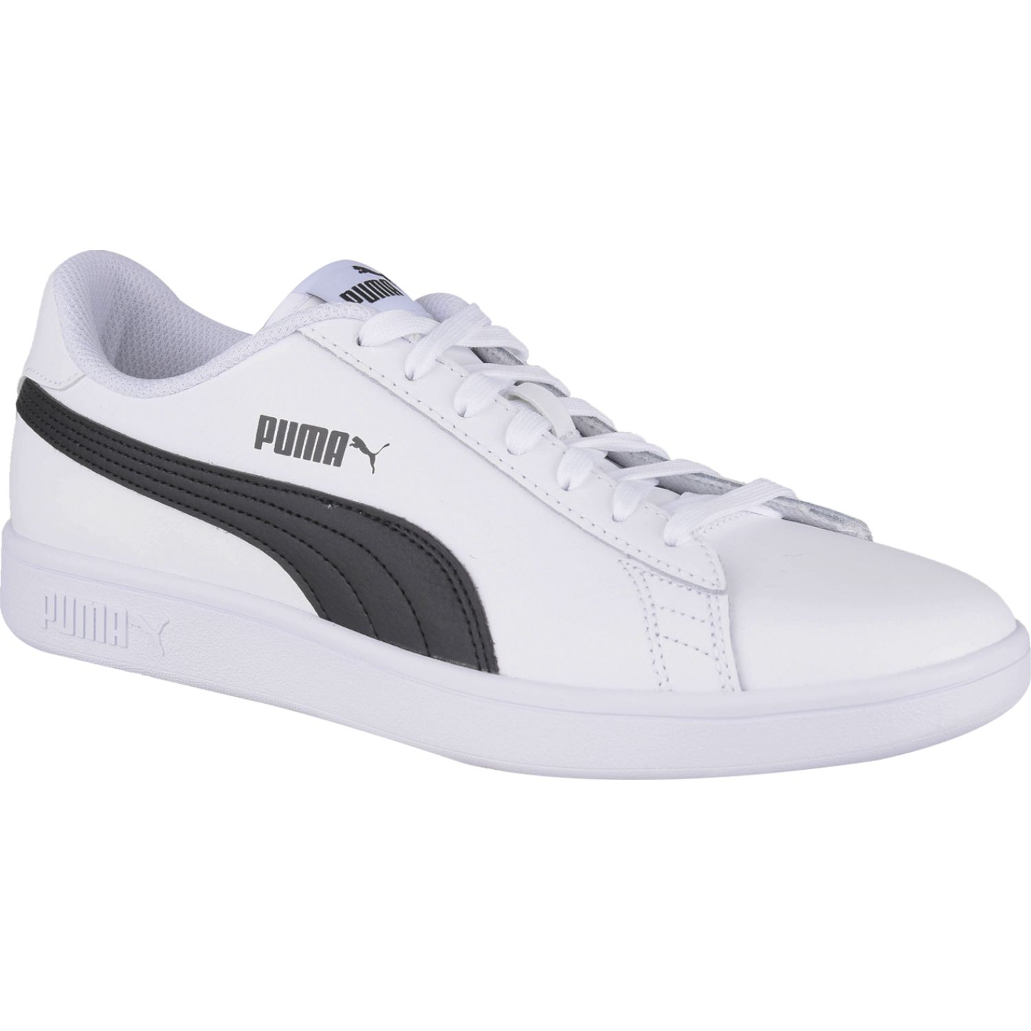 Puma SMASH V2 L Blanco / negro Walking | platanitos.com