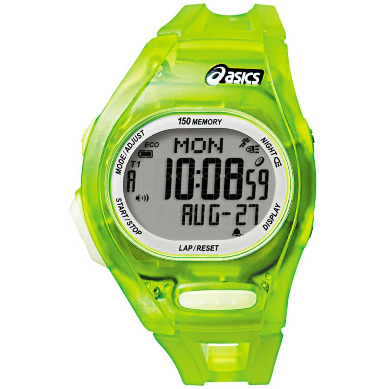 Asics cqar0801 Verde Relojes de Pulsera