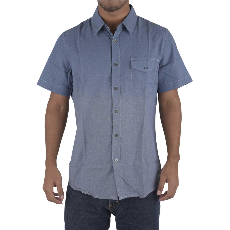 Dunkelvolk seasaon Azul Camisas de botones
