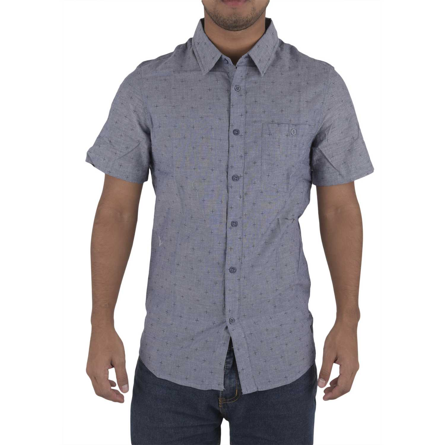 Camisas de Hombre Dunkelvolk Azul south cross