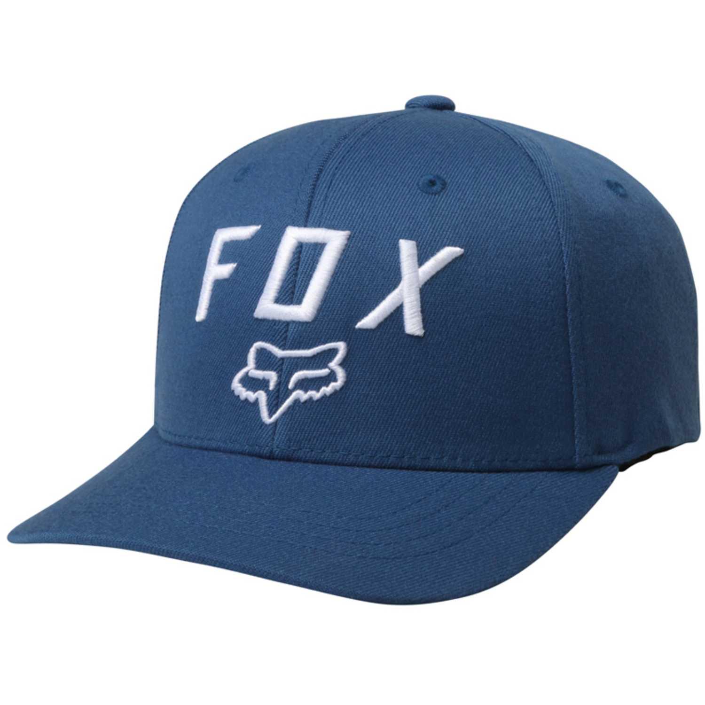 Gorros de Hombre Fox Azul / blanco legacy moth 110 snapback