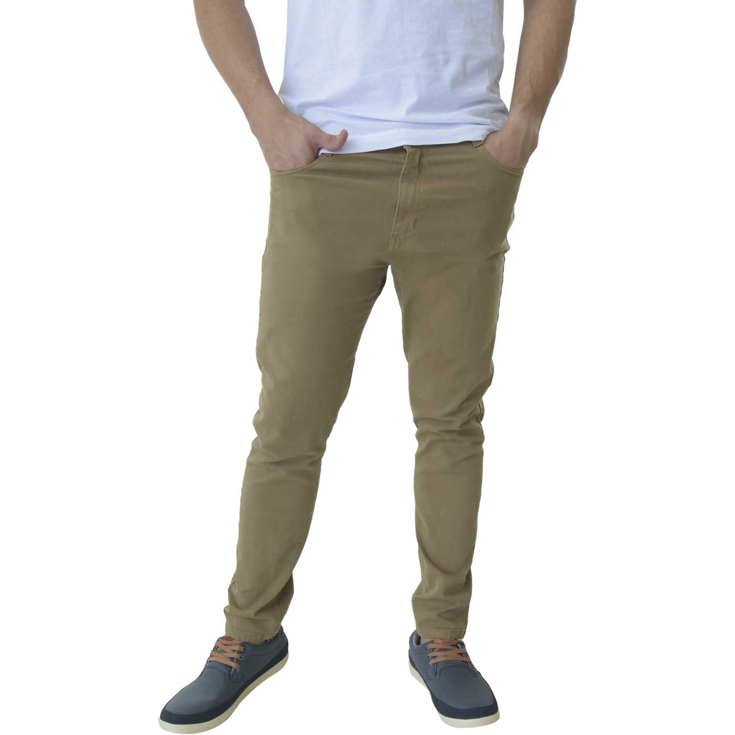 CUSTER Color M Camel Casual