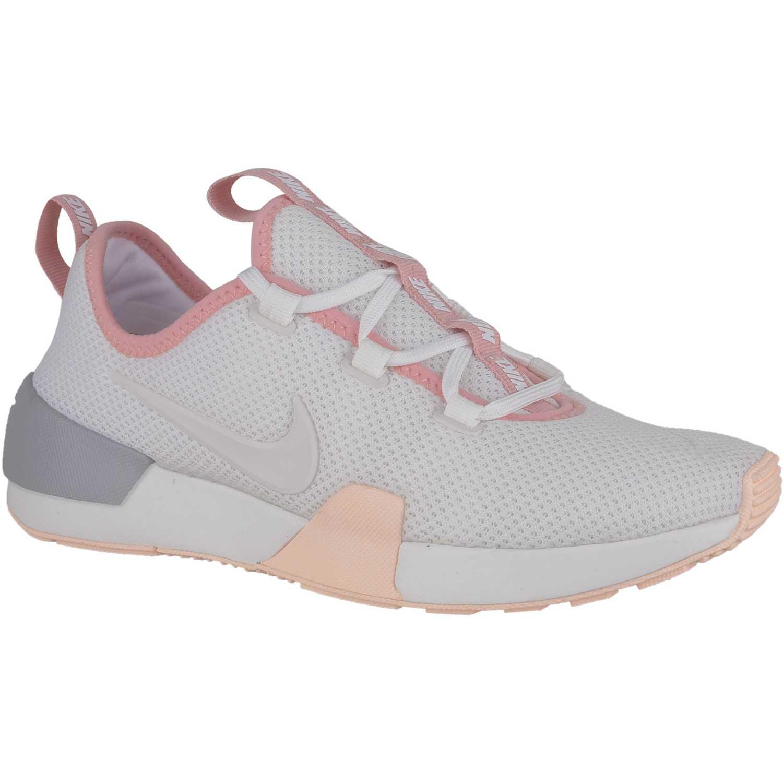 absceso Sabio gato  Nike Wmns Nike Ashin Modern Blanco / rosado Para caminar | platanitos.com