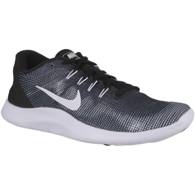 Nike nike flex 2018 rn Negro / plomo Running en pista