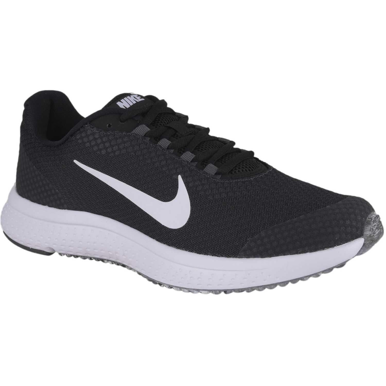 Nike nike runallday Negro / blanco Running en pista
