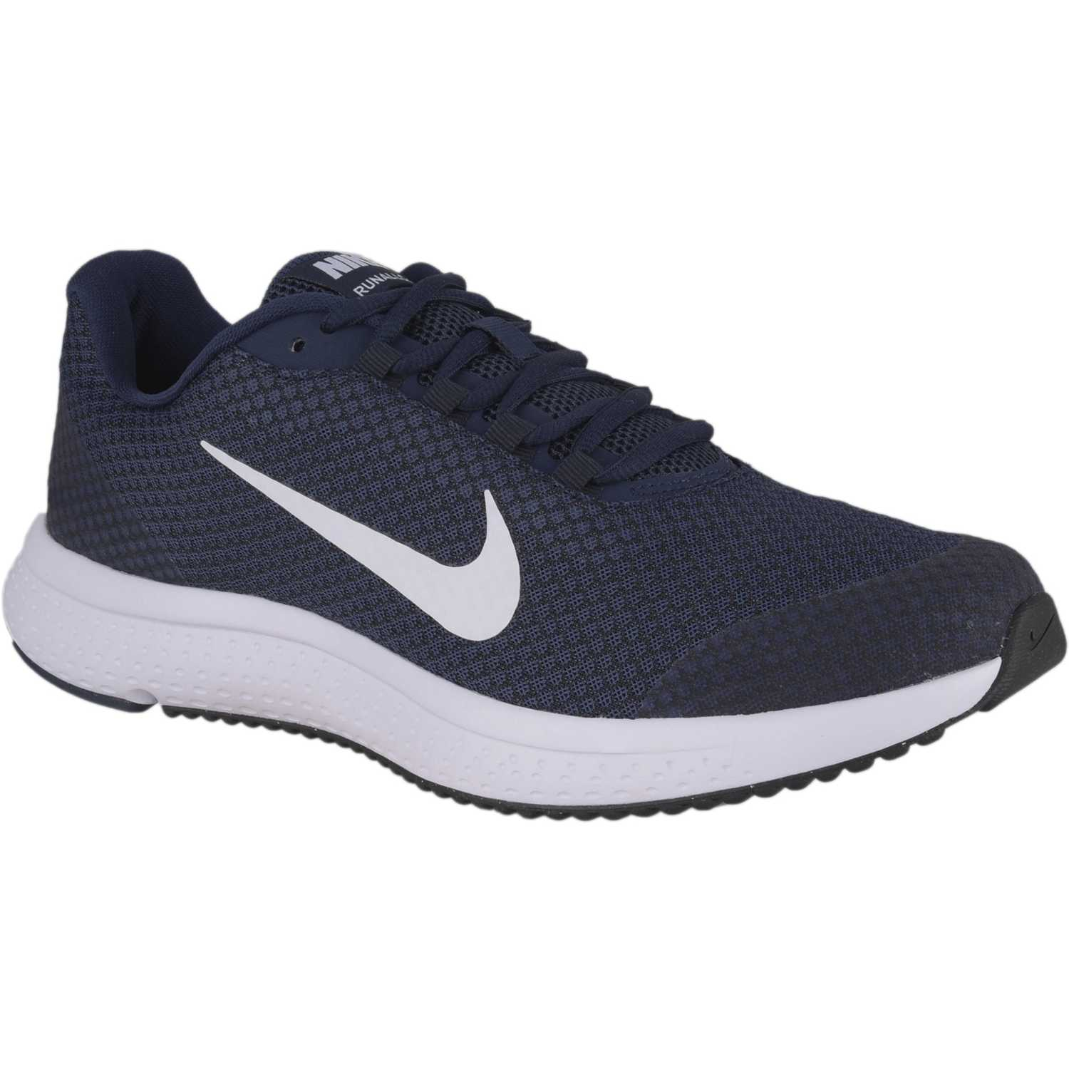 Nike nike runallday Azul / blanco Trail Running