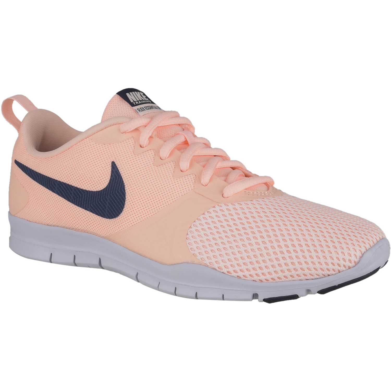 Nike wmns nike flex essential tr Coral negro Mujeres