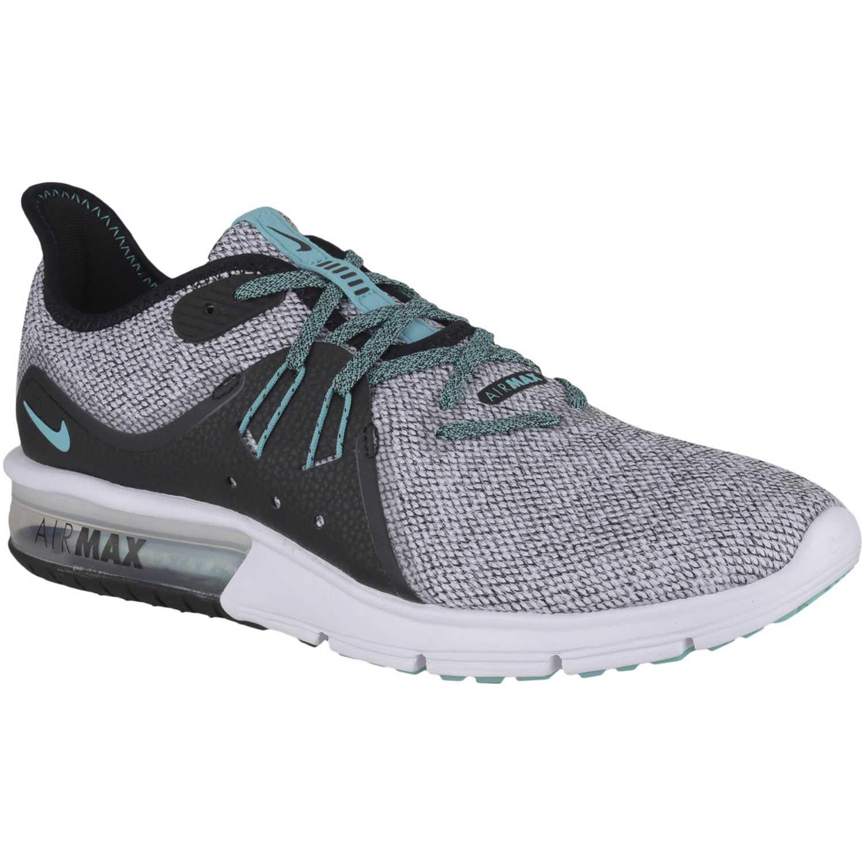 4c755731 Zapatillas de Hombre Nike Plomo / verde nike air max sequent 3 ...