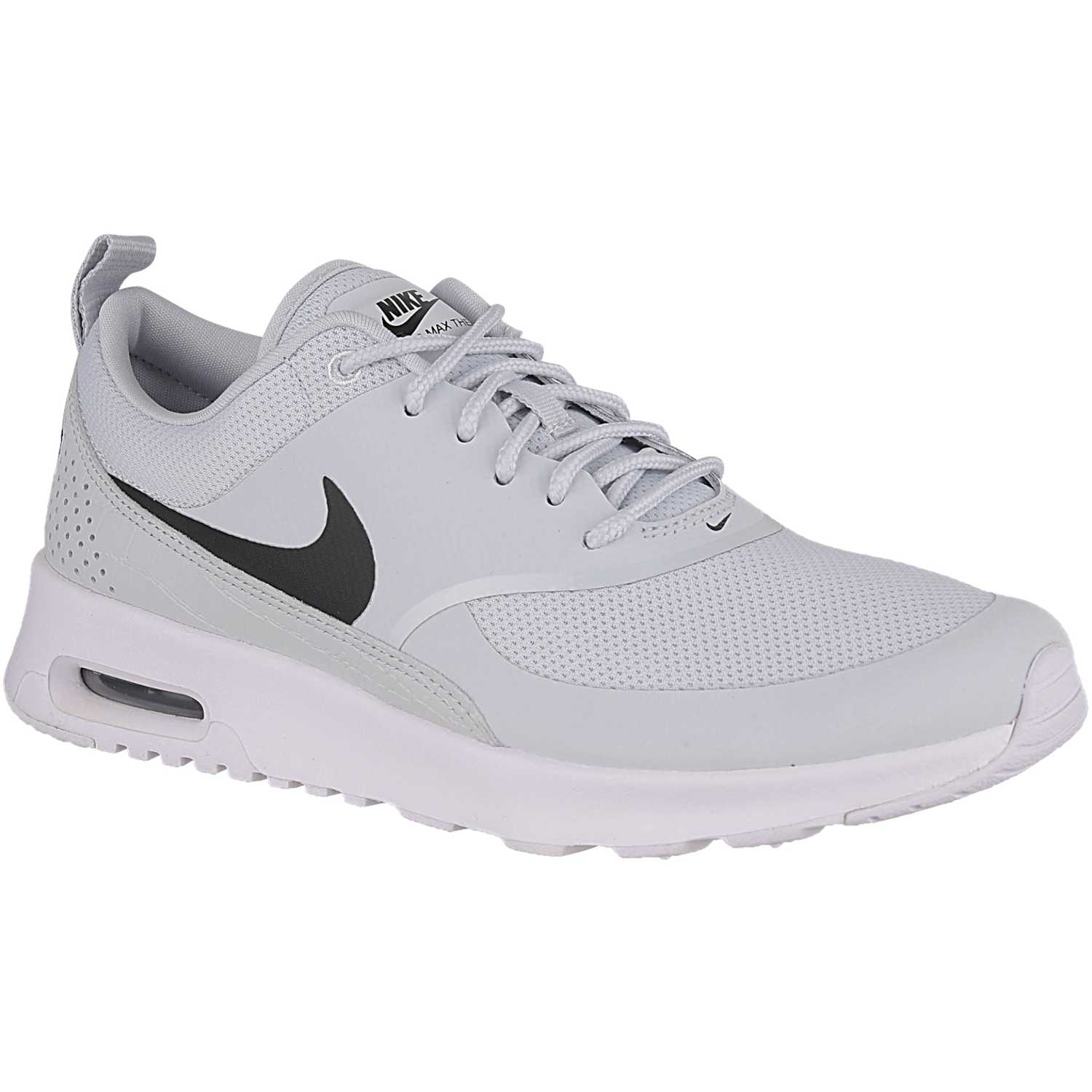 Nike w nike air max thea Blanco/plomo Walking