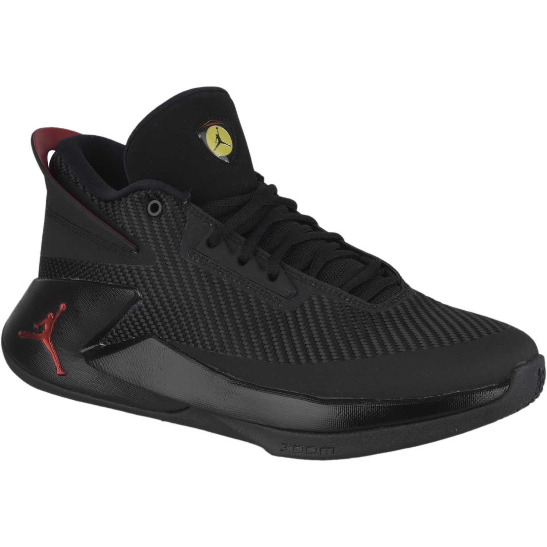 Nike Fly Rojo Lockdown De Mujer Negro Cuña Jordan Pnwk80XO
