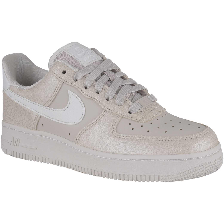 Casual de Mujer Nike Beige / blanco w air force 1 '07 prm