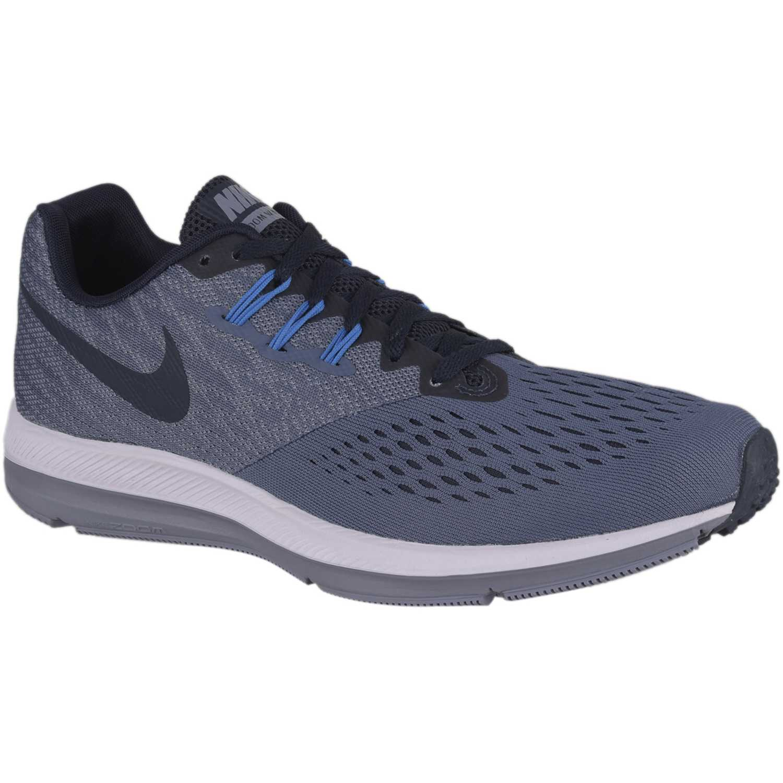 ca0f6254879 Zapatilla de Hombre Nike Plomo / negro zoom winflo 4 | platanitos.com