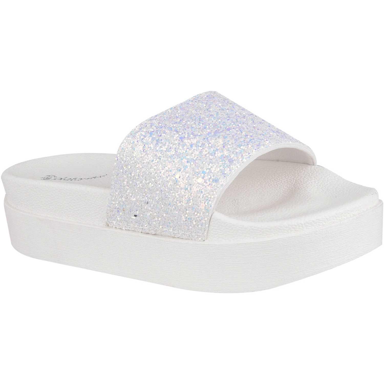 Flat de Mujer Platanitos Blanco sf 70a4