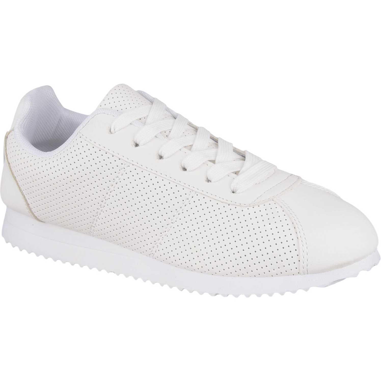 Zapatilla de Mujer Platanitos Blanco zc 7250