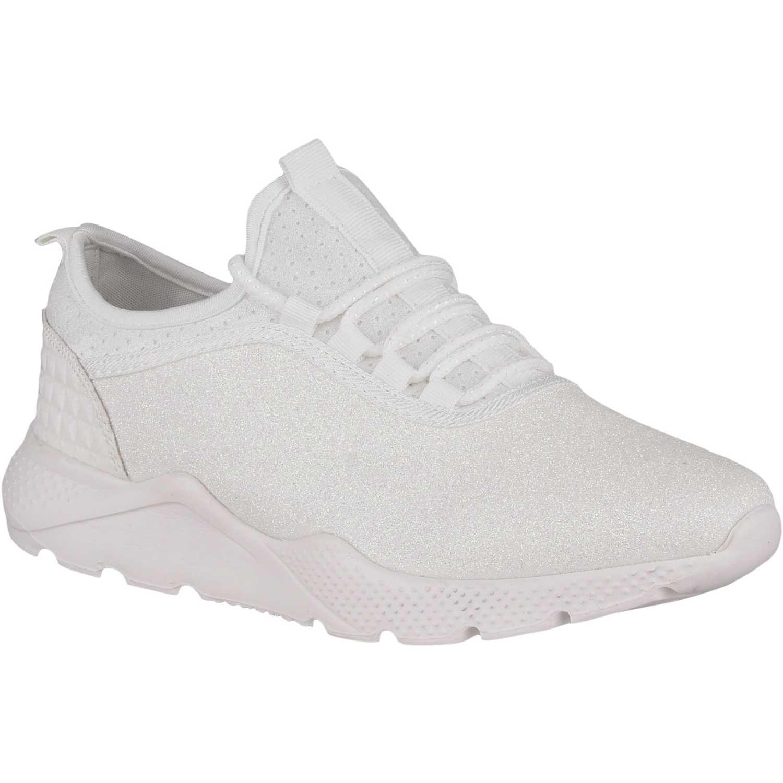 Zapatillas de Mujer Platanitos Blanco z 7038