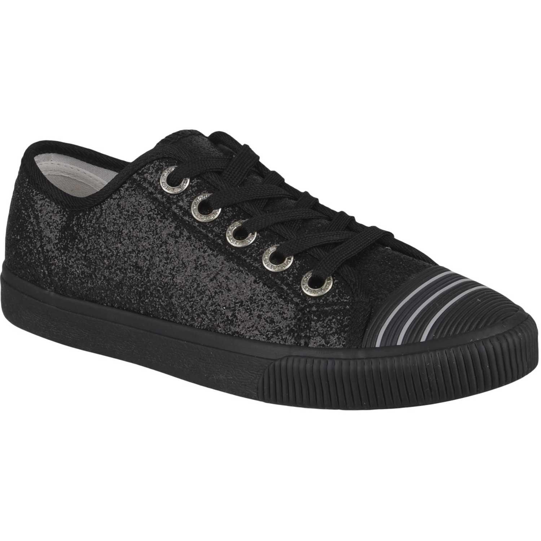 Zapatillas de Mujer Platanitos Negro zc 20175