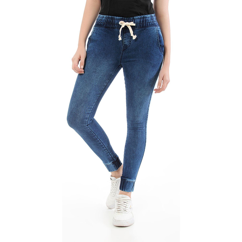 CUSTER jogger w Dark acid Jeans