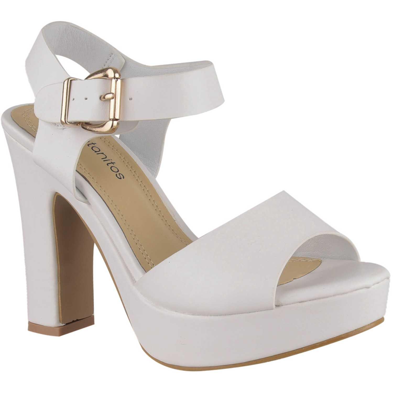 Casual de Mujer Platanitos Blanco sp 823