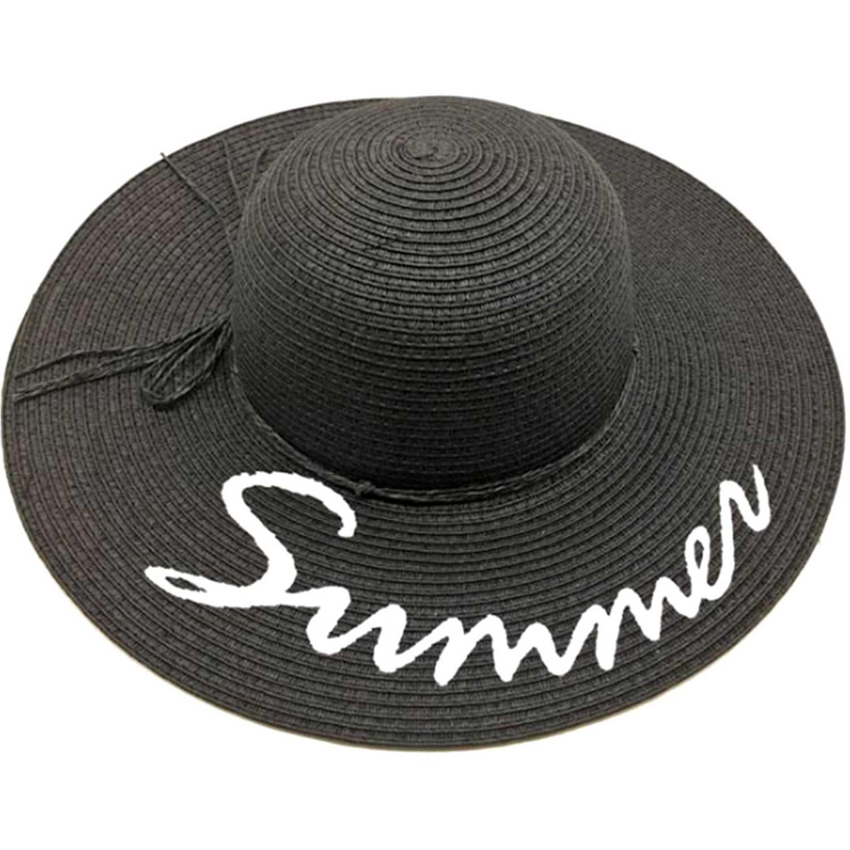 Platanitos U7-91-A Negro Sombreros para el sol