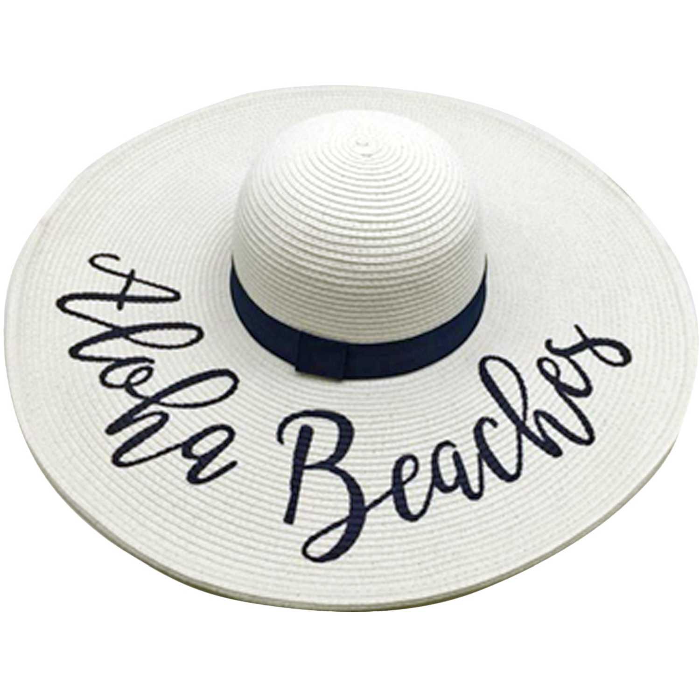 Platanitos Ua7-6-A Blanco Sombreros para el sol