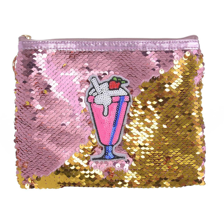 Porta Cosméticos de Mujer Platanitos Rosado yj019