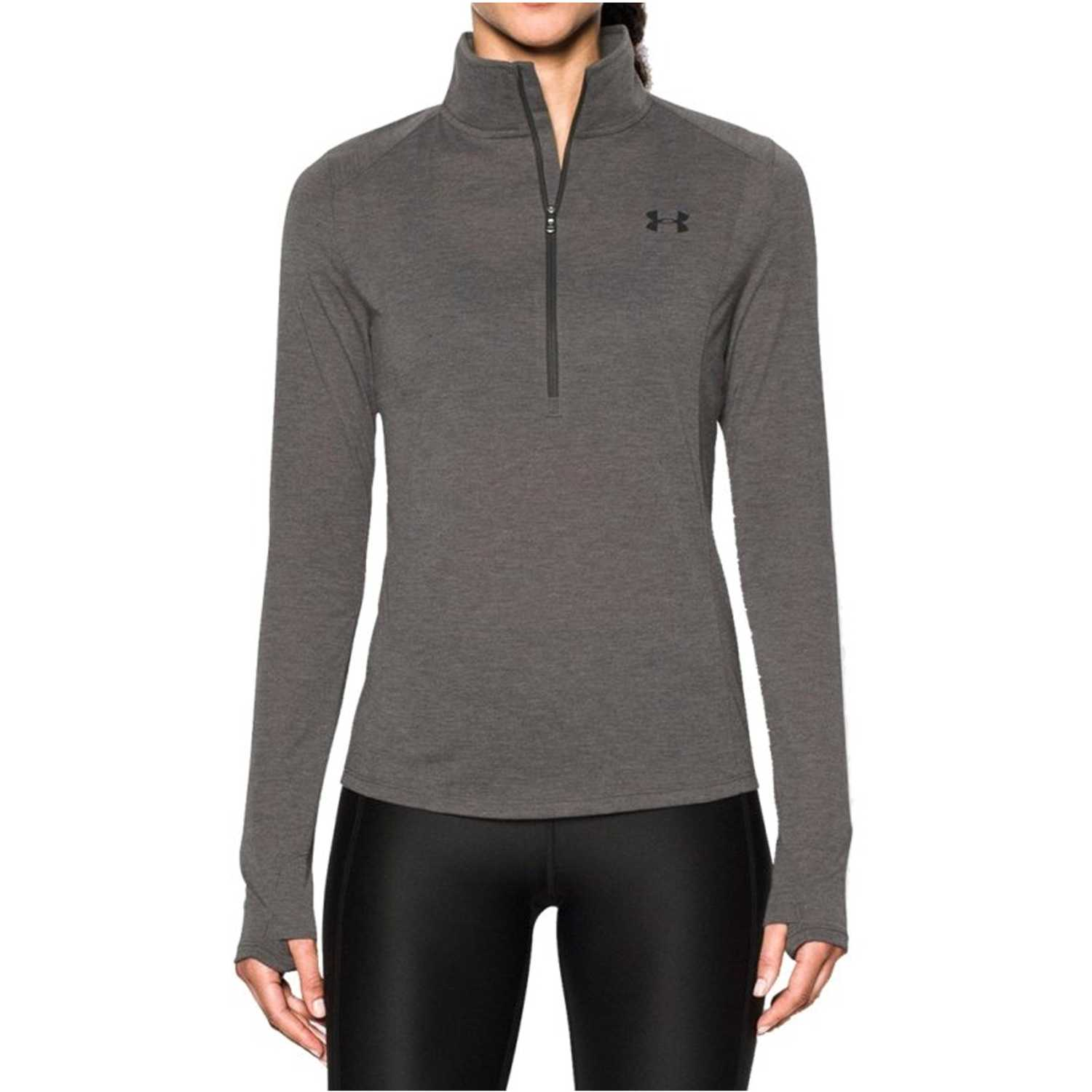 Deportivo de Mujer Under Armour Gris threadborne train 1/2 zip