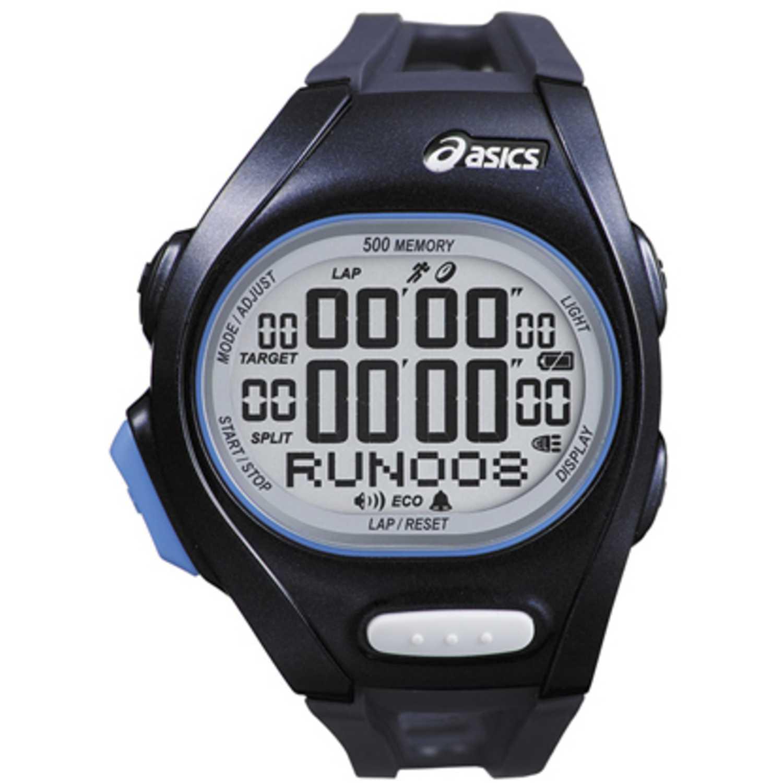 Asics elite racer b Negro Relojes de Pulsera
