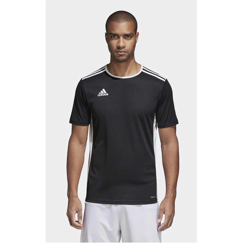 Adidas Entrada 18 Jsy Negro / blanco Camisetas y polos deportivos