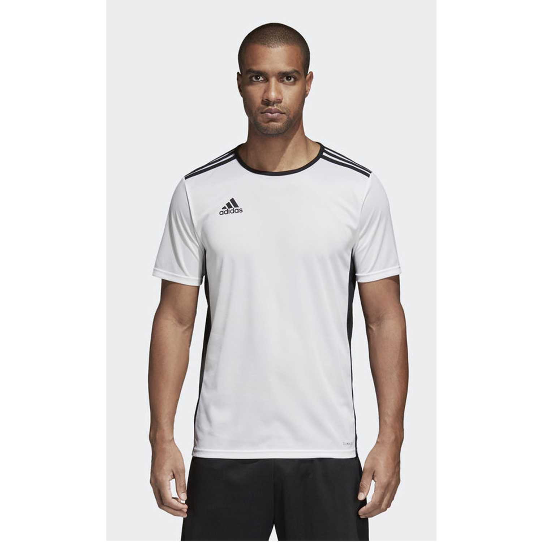 Adidas entrada 18 jsy Blanco / negro Camisetas y Polos Deportivos