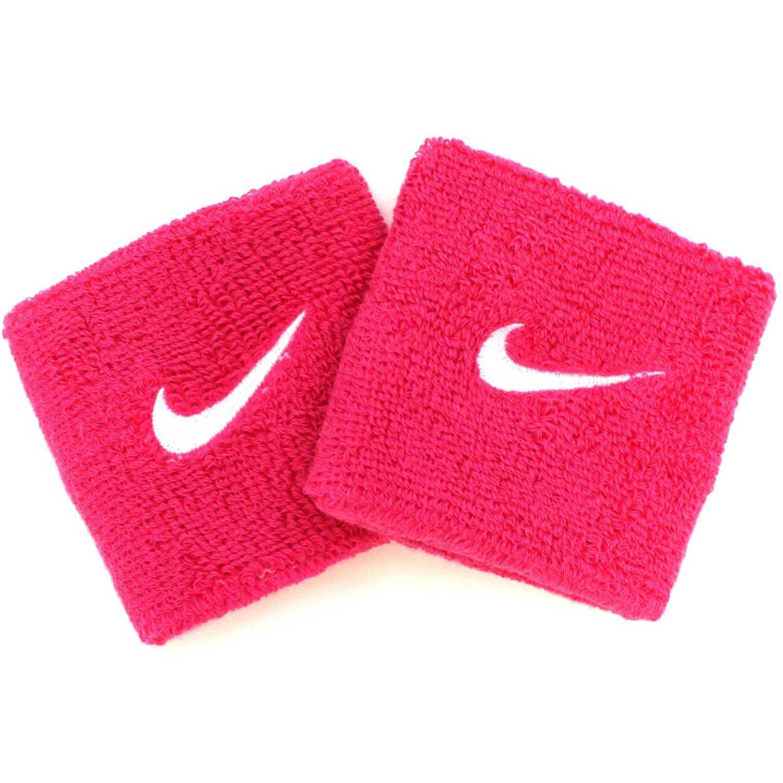 Muñequeras de Mujer Nike Fucsia nike swoosh wristbands