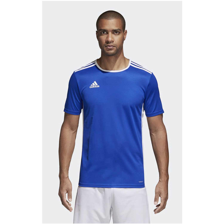 Adidas ENTRADA 18 JSY Azulino Camisetas y Polos Deportivos