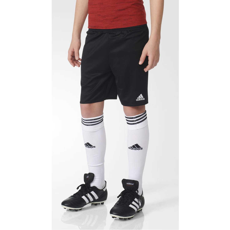 Adidas parma 16 sho y Negro / blanco Shorts Deportivos