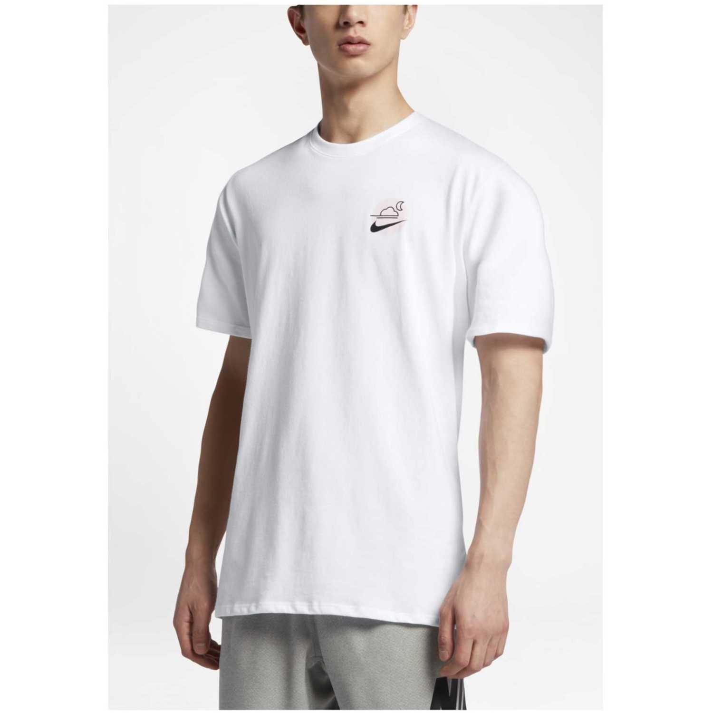 Nike m nk sb dry tee df skyscrpr Blanco Camisetas y Polos Deportivos